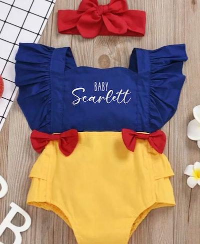 Snow White Baby Girl Halloween Costume