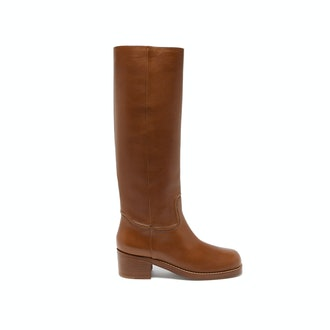 Gabriela Hearst Marion Leather Knee-High Boots