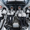 inspiration 4 crew in dragon spacex