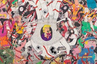 Camilo Restrepo's Mera Calentura #1 (detail), 2017