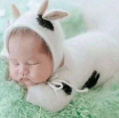 Baby Halloween Cow Costume