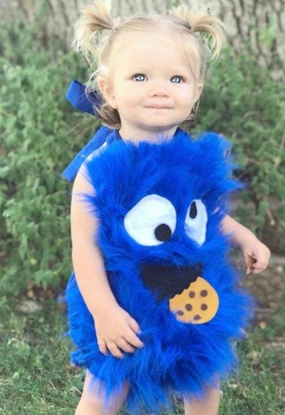 Cookie Monster Baby Halloween Costume