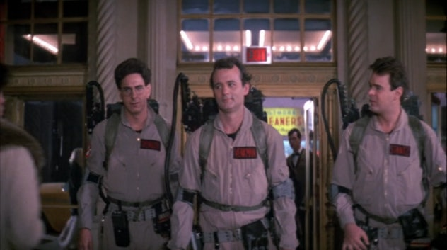Ghostbusters was released in 1984
