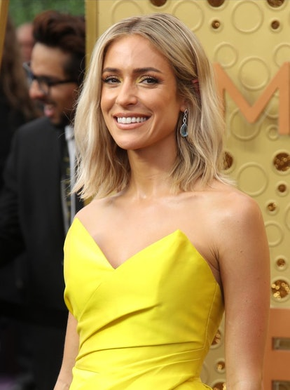 Kristin Cavallari rocked a bronzed makeup look to the 2019 Emmys.