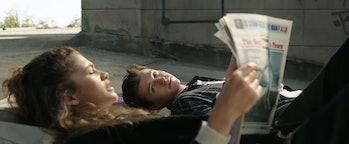 Tom Holland and Zendaya in Spider-Man: No Way Home