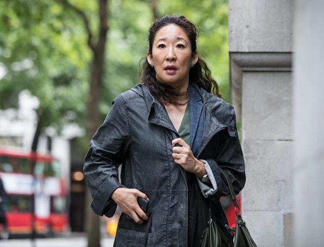 Sandra Oh in 'Killing Eve,' a show like 'You' on Netflix