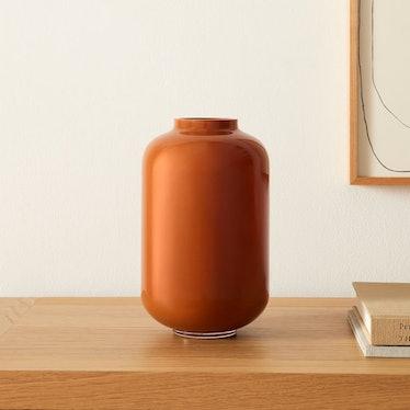 Mari Glass Vases - Rust