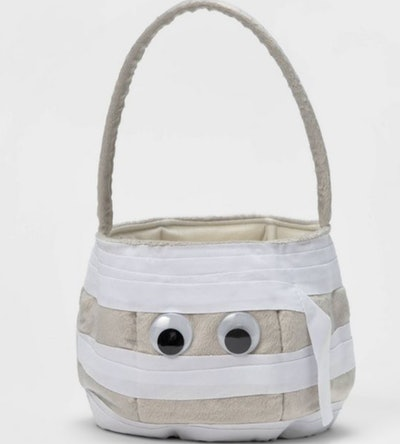 Mummy Pail Halloween Trick or Treat Container