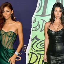 See the best Emmys red carpet looks that channeled '90s and 2000s fashion, from Zendaya corset dress...