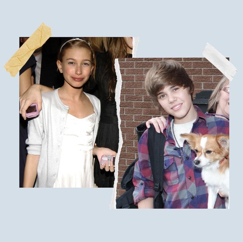 Hailey Baldwin met Justin Bieber in 2009 when they were both teens.