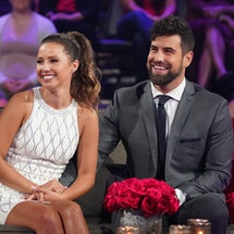 Katie Thurston & Blake Moynes on the 'Bachelorette: After the Final Rose' special via ABC's press si...