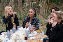 Leah McSweeney, Eboni K. Williams, Luann de Lesseps, Ramona Singer in 'The Real Housewives of New Yo...