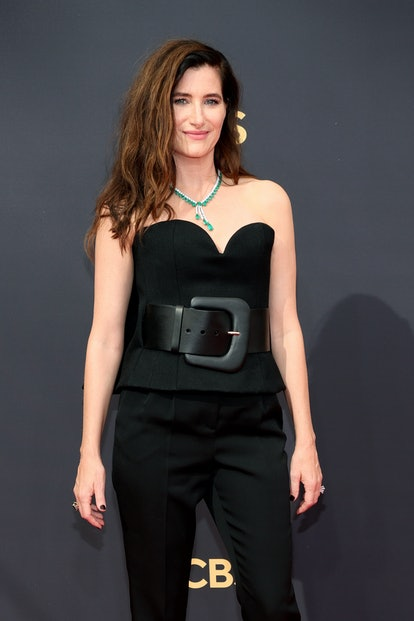 Kathryn Hahn attends the 73rd Primetime Emmy Awards at L.A. LIVE on September 19, 2021 in Los Angele...