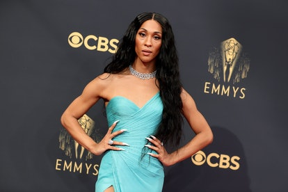Michaela Jaé Rodriguez attends the 73rd Primetime Emmy Awards at L.A. LIVE on September 19, 2021 in ...
