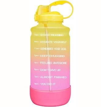 Elvira Motivational Water Bottle