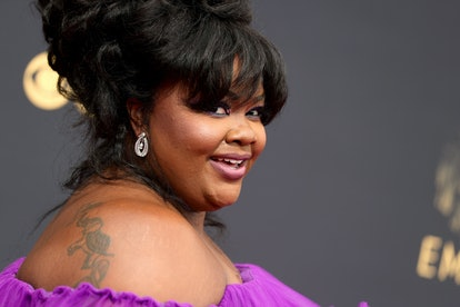 Nicole Byer attends the 73rd Primetime Emmy Awards at L.A. LIVE on September 19, 2021 in Los Angeles...
