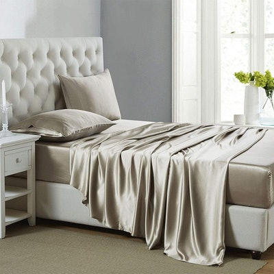 Pure Bedding Hotel Luxury Silky Bed Sheets (4-Piece)
