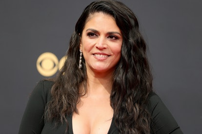 Cecily Strong attends the 73rd Primetime Emmy Awards at L.A. LIVE on September 19, 2021 in Los Angel...