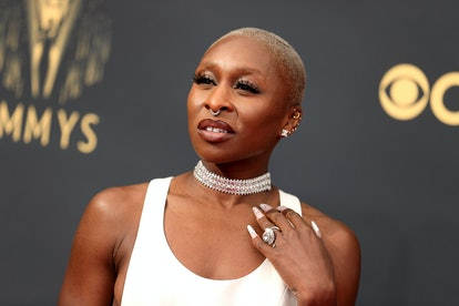 Cynthia Erivo attends the 73rd Primetime Emmy Awards at L.A. LIVE on September 19, 2021 in Los Angel...