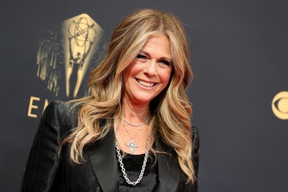 Rita Wilson attends the 73rd Primetime Emmy Awards at L.A. LIVE on September 19, 2021 in Los Angeles...
