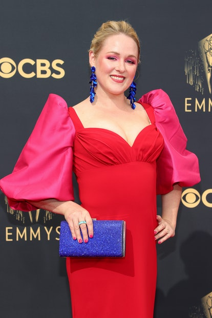 Ariel Dumas attends the 73rd Primetime Emmy Awards at L.A. LIVE on September 19, 2021 in Los Angeles...