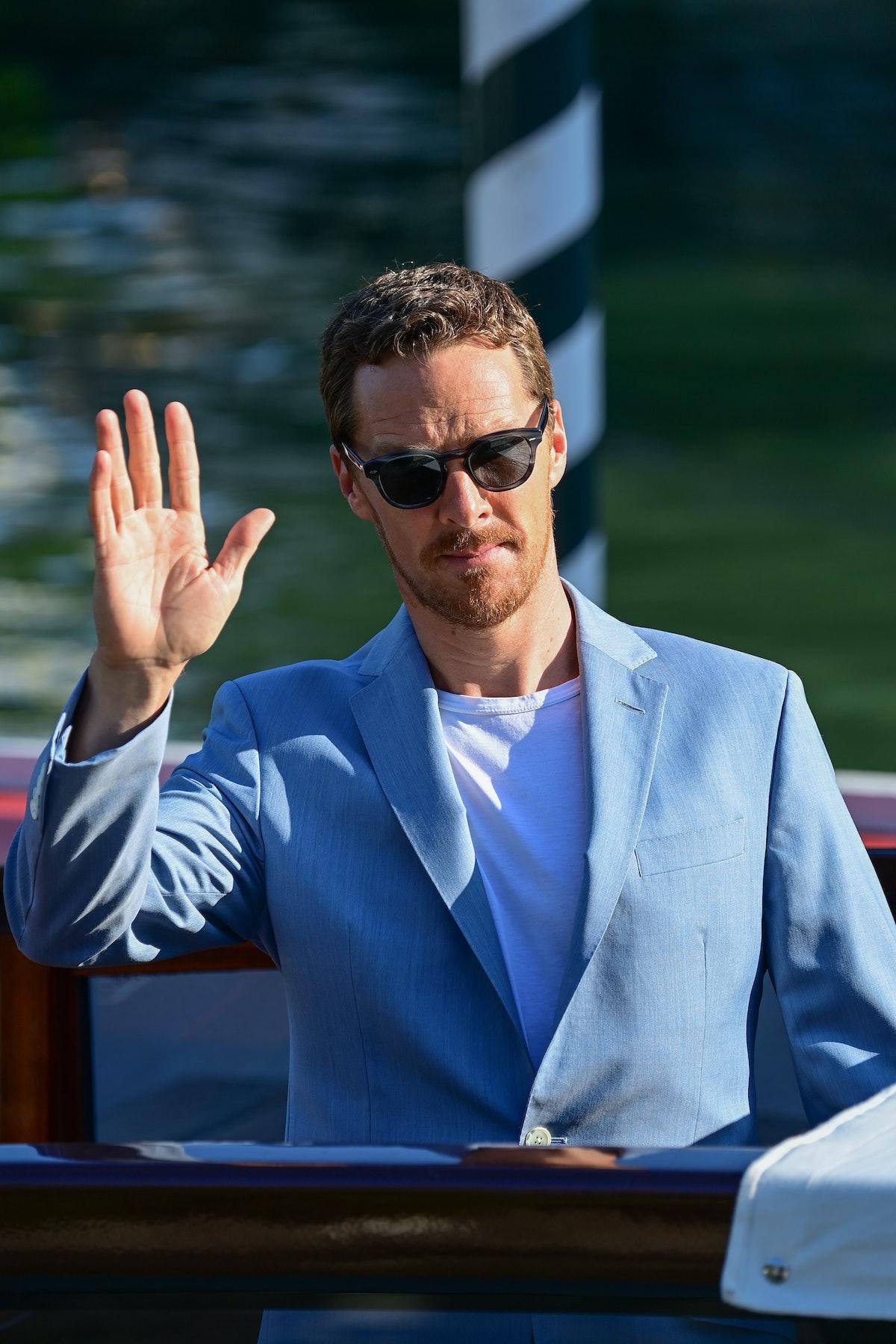 Benedict waving