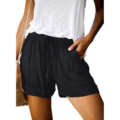 Acelitt Casual Pocketed Shorts