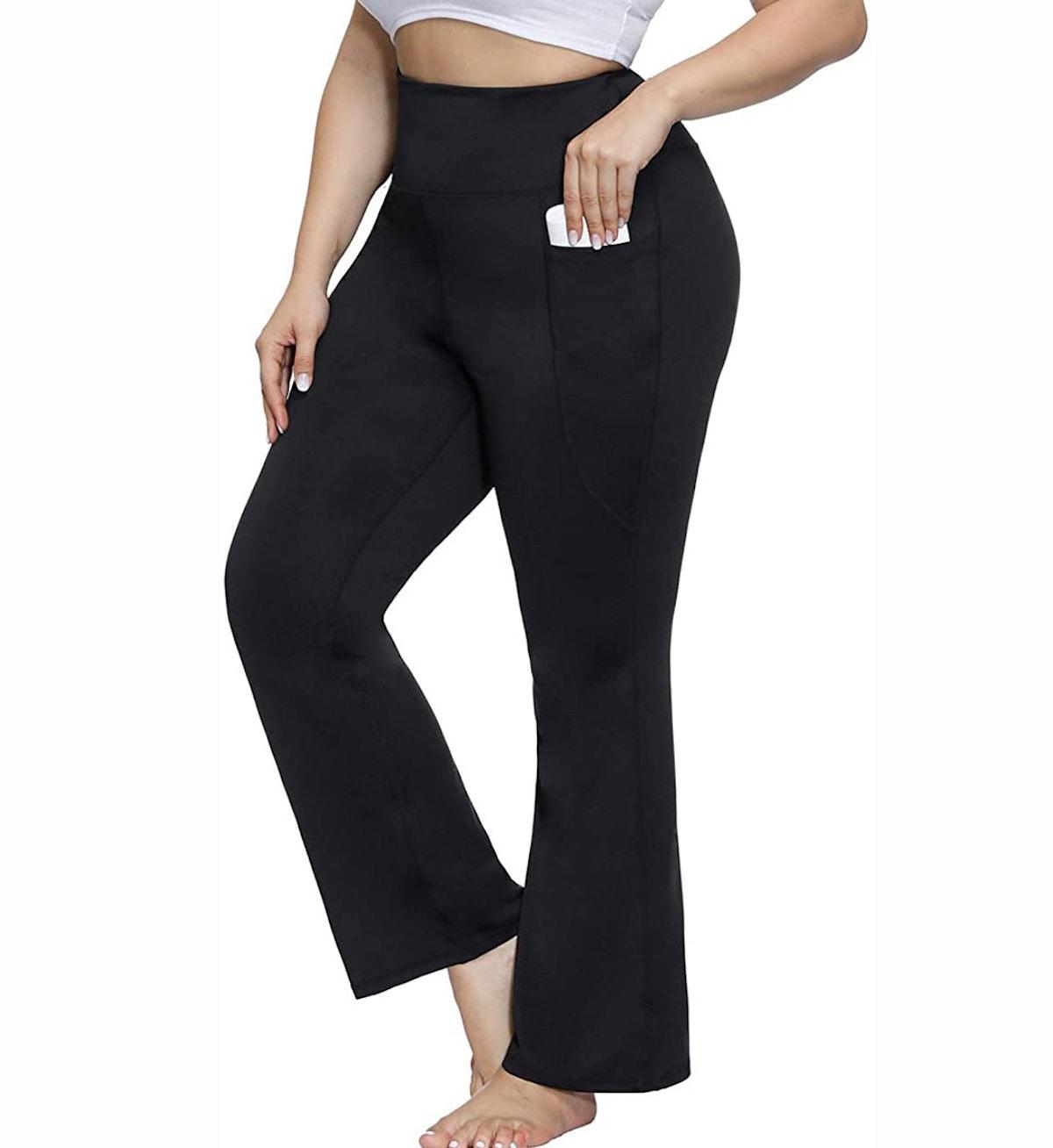 Hanna Nikole Plus Size Bootcut Yoga Pants
