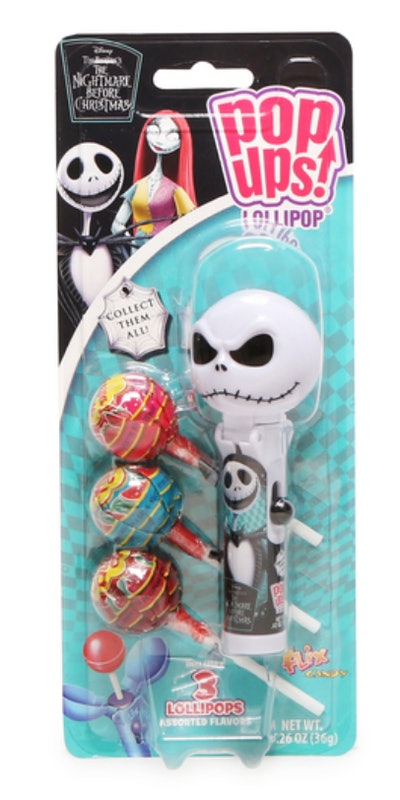 This Jack Skellington lollipop is available this Halloween season at Five Below.