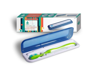 Travel UV Toothbrush Sanitizer Case