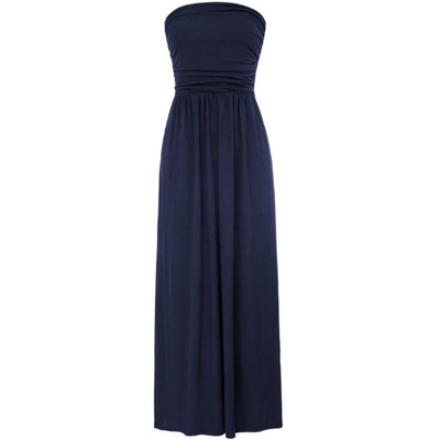 GRACE KARIN Strapless Maxi Dress with Pockets