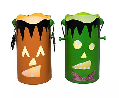 This 2-pack of Halloween character lanterns is available at BJ's Wholesale.