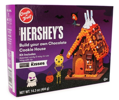 This Hershey's Chocolate Halloween cookie house kit is just $5 at Five Below.