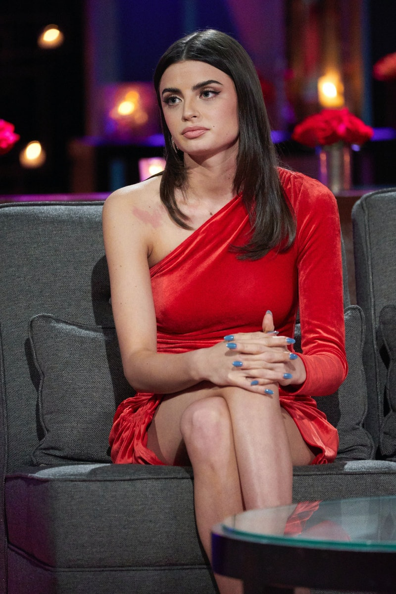 The Bachelor's Rachael Kirkconnell during Season 25's 'After The Final Rose' special.