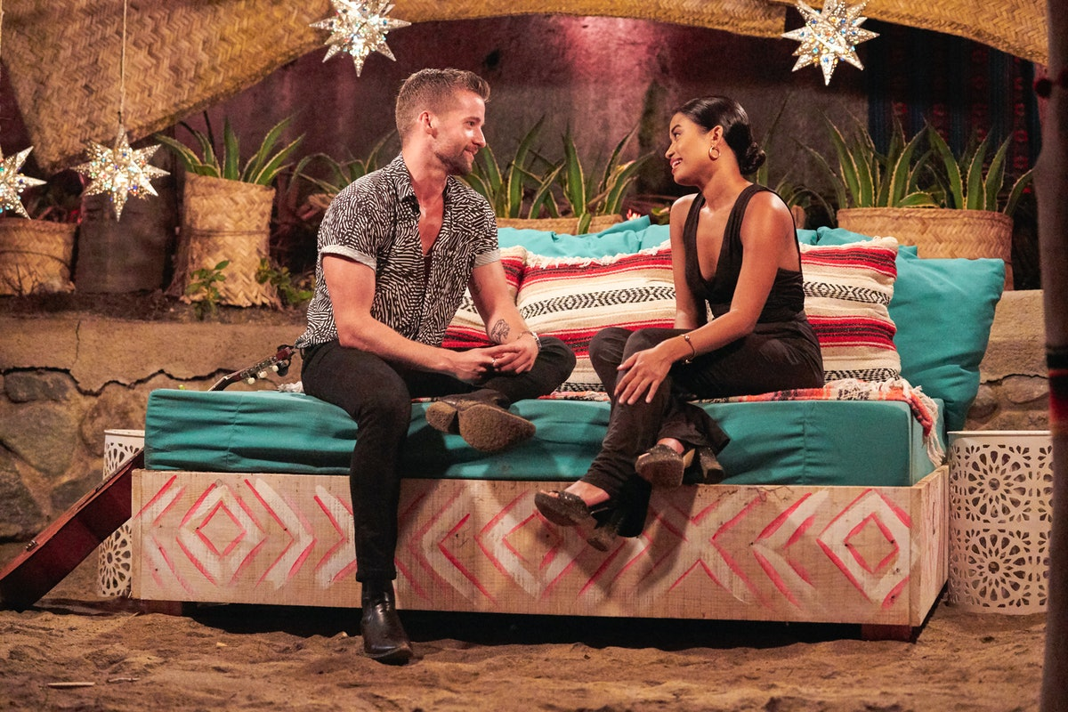 Connor and Jessenia on Season 7 of ABC's 'Bachelor in Paradise'