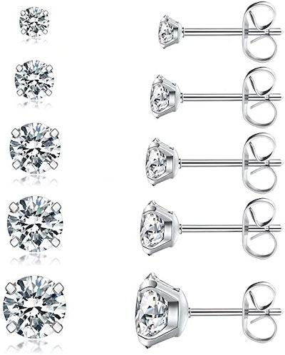 Wssxc Stud Earrings Set