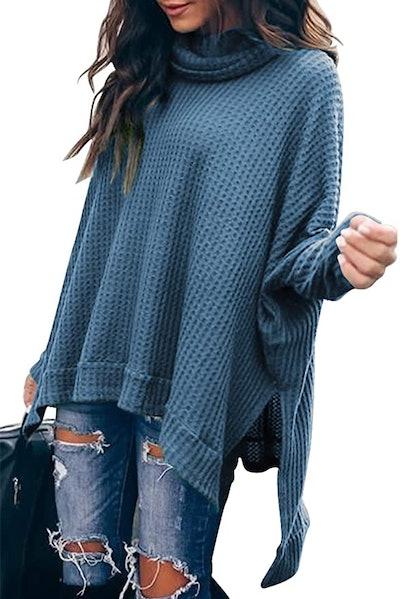Caracilia Cowl Neck Sweater
