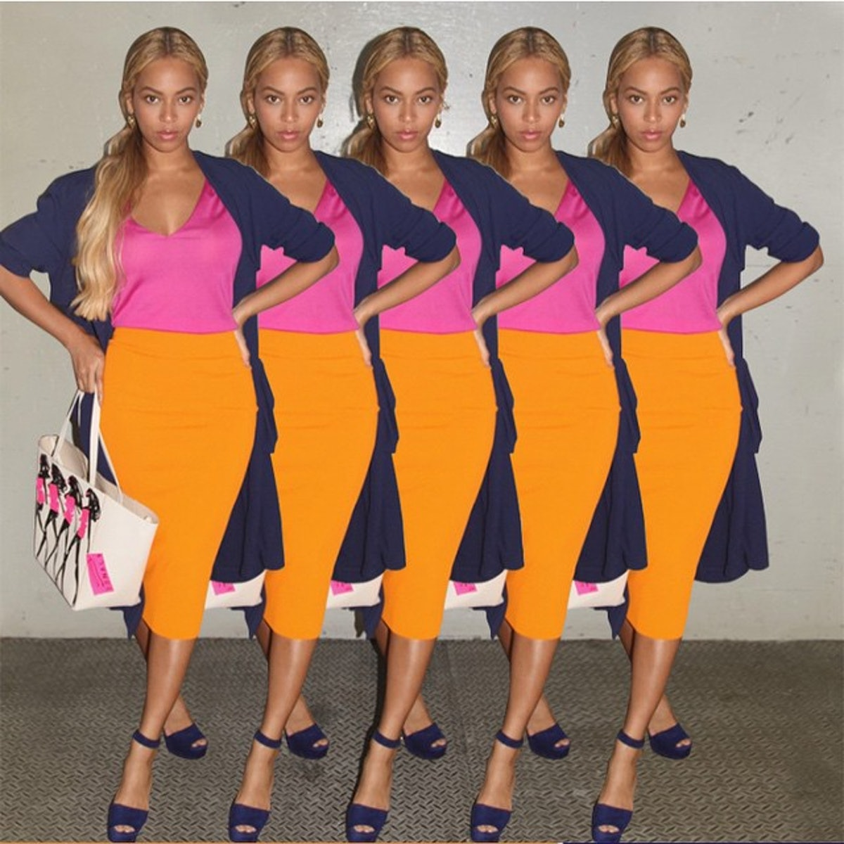 Five Beyoncés