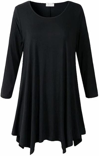 LARACE 3/4 Sleeve Tunic Top
