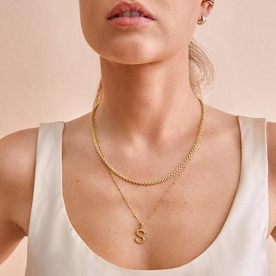 Mini Rolo Chain Necklace