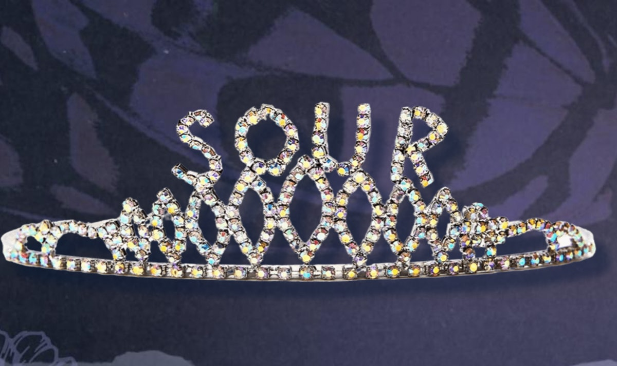 Olivia Rodrigo Sour prom costume