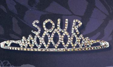 Olivia Rodrigo's 'Sour' prom tiara