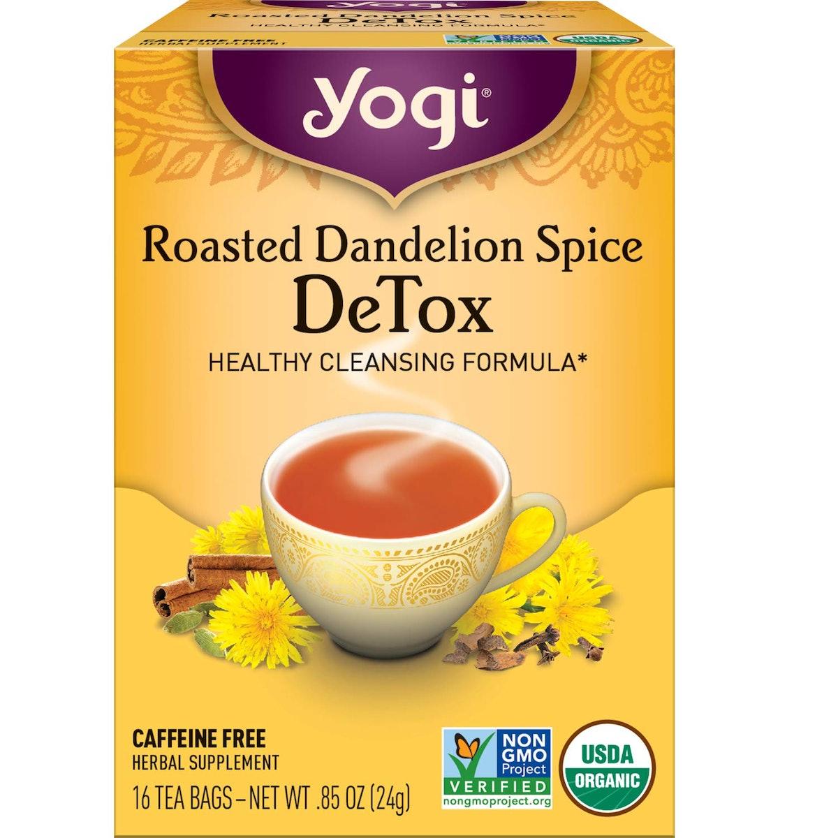 Roasted Dandelion Spice DeTox Tea