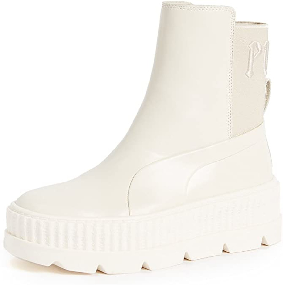 Chelsea sneaker boots from PUMA x Fenty, available to shop on Amazon.