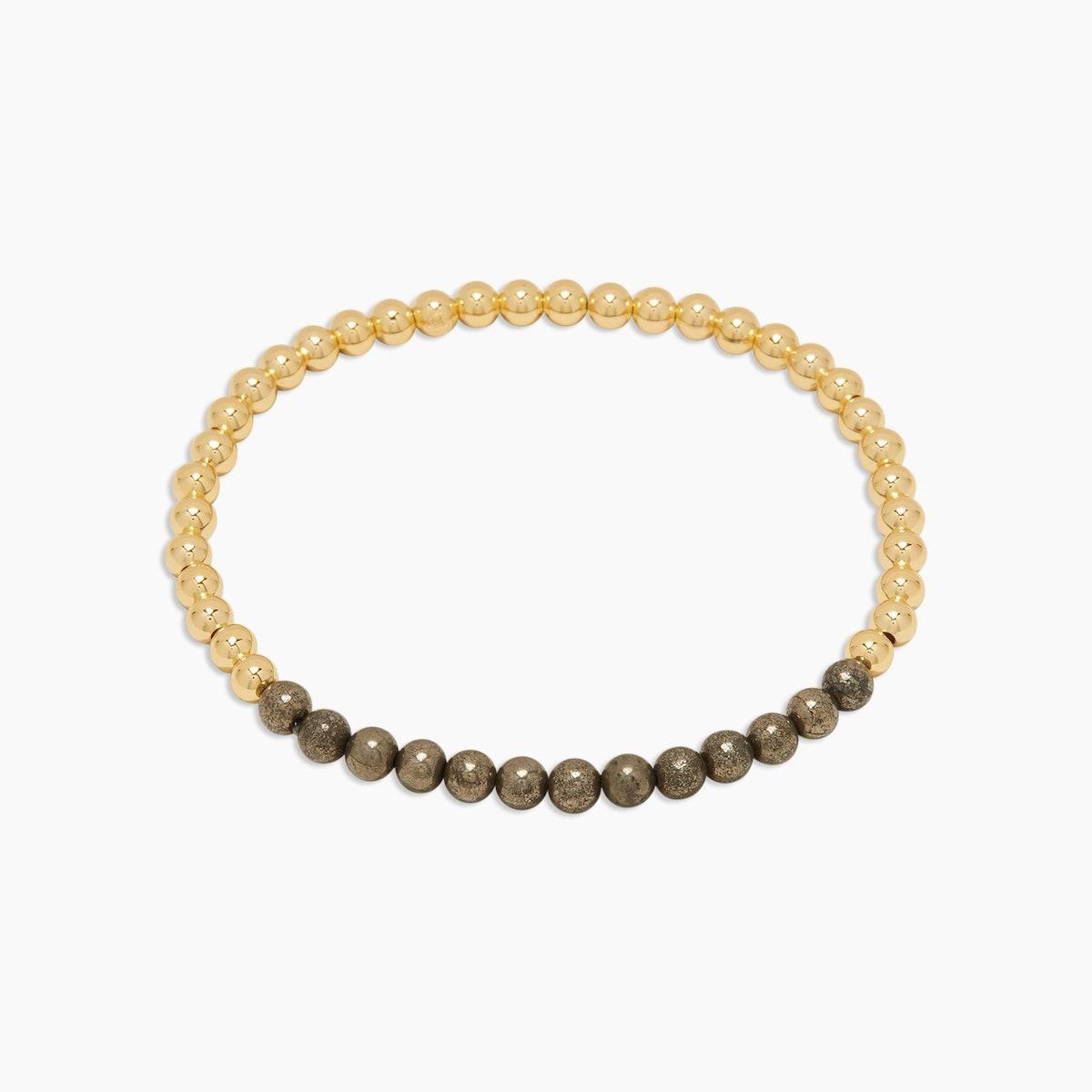 Power Gemstone Aura Bracelet for Strength