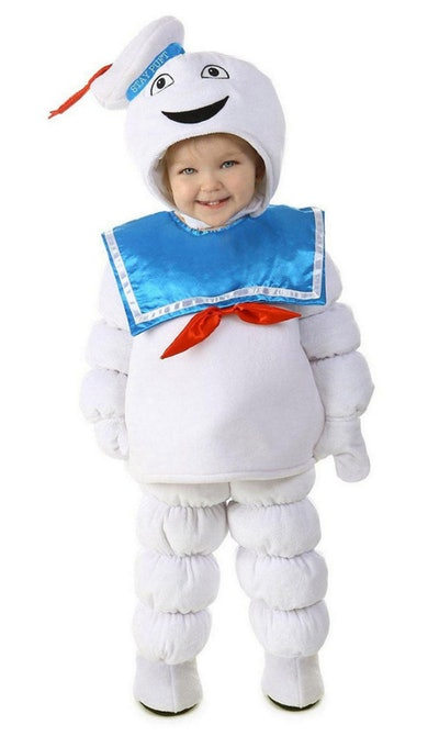 This Ghostbusters Stay Puft child's costume is available at BJ's Wholesale this Halloween season.