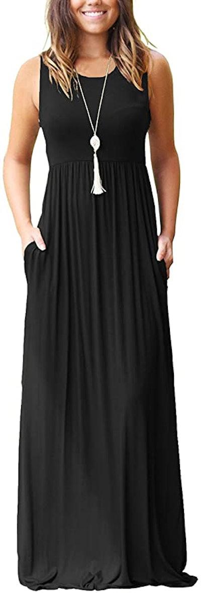 MOLERANI Plain Maxi Dress