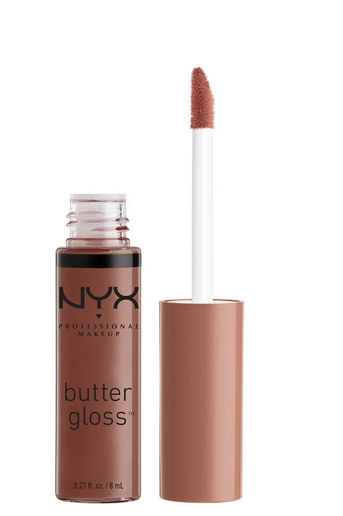 NYX Butter Gloss in Ginger Snap