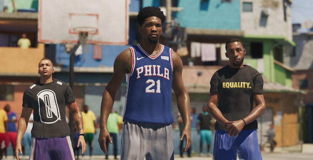 NBA Live 19 Players