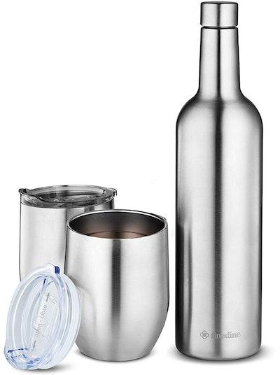 FineDine Wine Chiller Gift Set